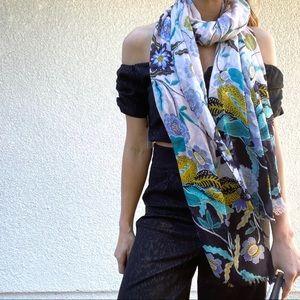 Rebecca Minkoff floral scarf